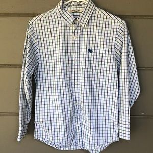 Boys old navy size large plaid shirt-A-